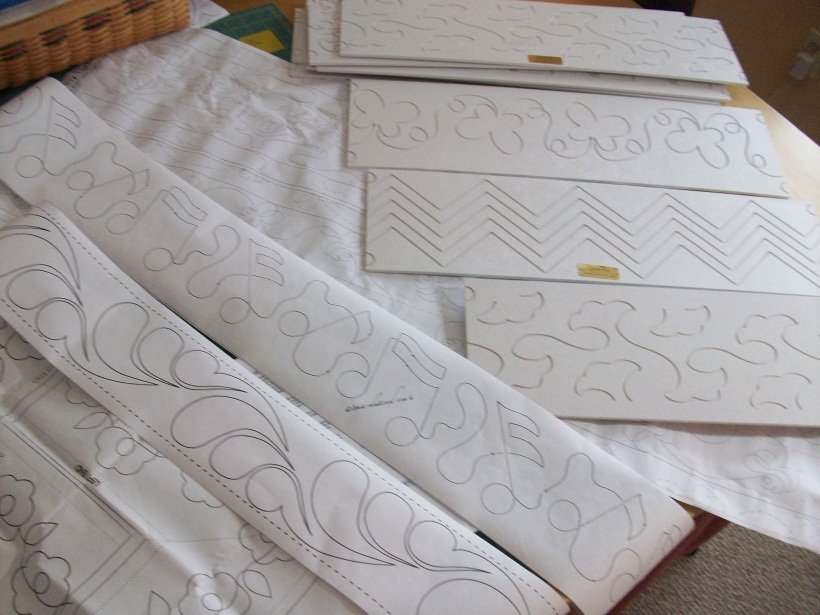 Long Arm Quilting Pattern Boards : Wenda s Workshops