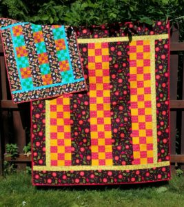 Strips & 9's both quilts