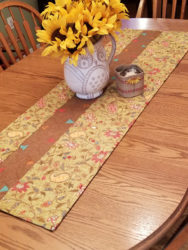 Modern Tri Table Runner